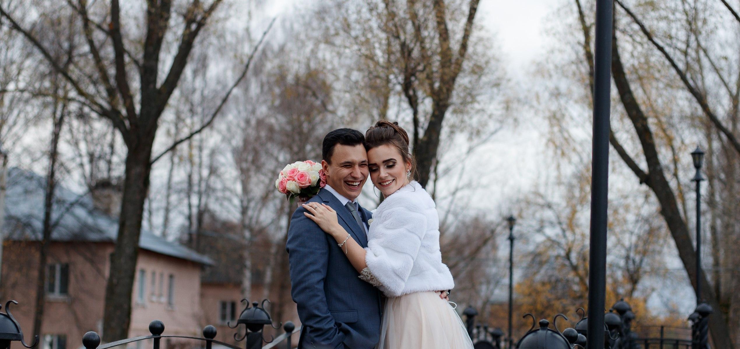 Свадебная фотосъемка в г. Богородск, Мост Влюбленных